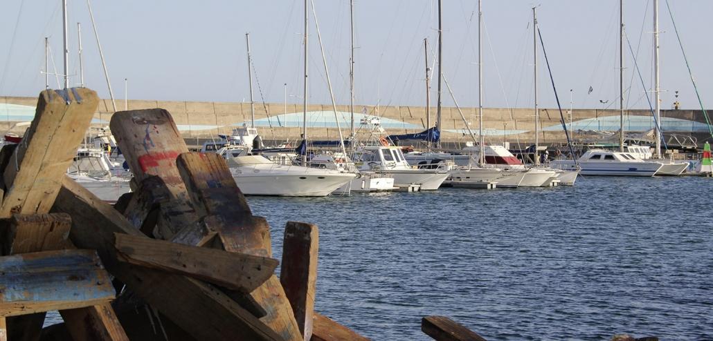 Fuerteventura Insel Impressionen Hafen Morro Jable