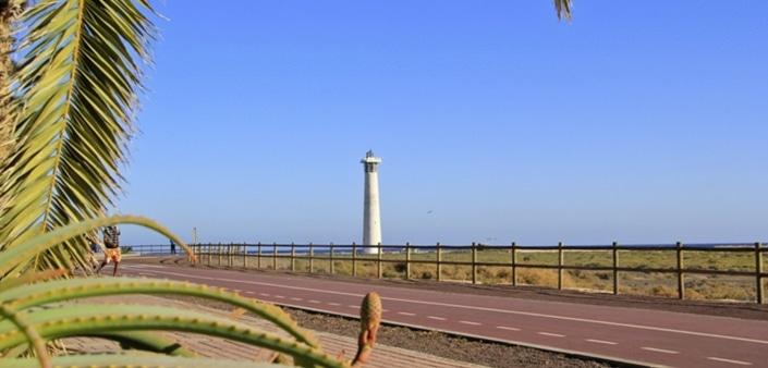 Fuerteventura Insel Leuchtturm von Jandia
